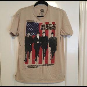 The Beatles Large T Shirt UK Apple Label